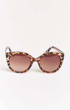 Perverse Sunglasses ~ Gimme Mo ~ Glossy Tortoise with Brown Gradient Lenses
