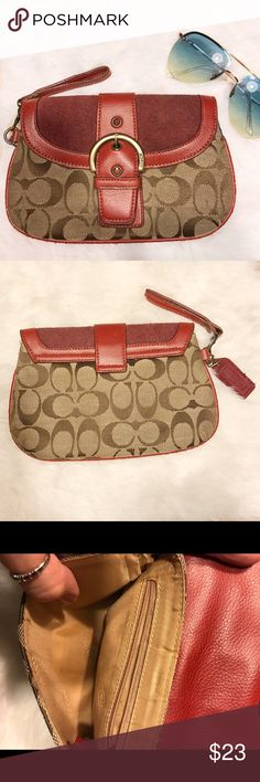 SALE! Coach Clutch / Wristlet Preloved Super Clean ~ Coach Bags Clutches & Wristlets