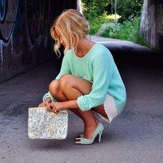 Breakfast in my Tiffany Blue Shoes