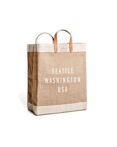 Seattle Market Bag by Apolis