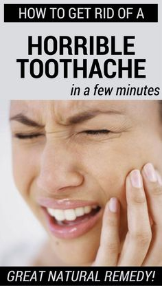 How To Get Rid Of A Horrible Toothache In A Few Minutes