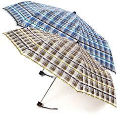 8a05015e9 The Carba Plaid Compact Umbrella | Looking for a fantastic plaid umbrella?  How about a