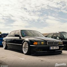 Bmw 740, Bmw 7 Series, Bmw Classic, Stance Nation, Bmw Cars, Future Car, Cars And Motorcycles, Cool Cars, Dream Cars