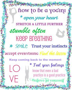 how to be a Yogini