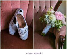 lionscrest manor wedding blue wedding shoes