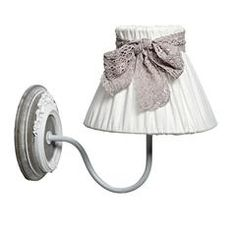 METAL/MDF WALL LAMP IN GREY-BEIGE COLOR 20X30X25