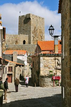 Linhares da Beira, old traditional village in the heart of Portugal - Images of Portugal Places Around The World, Oh The Places You'll Go, Great Places, Beautiful Places, Places To Visit, Around The Worlds, Visit Portugal, Spain And Portugal, Portugal Travel