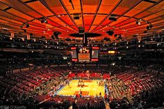 Madison Square Garden (New York, New York). With Anna, we attended a Coaches versus Cancer early season game for Temple basketball against Duke. Don't remember the year.