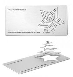 BtoBアルミニウムメーカーによる遊び心溢れる愉快なクリスマスカード | AdGang