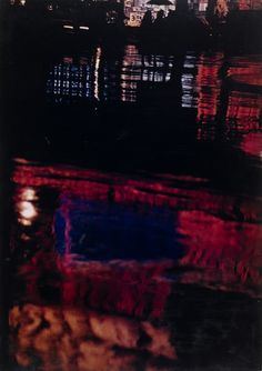 "Ernst Haas. New York. 1949-53. Dye transfer print. 13 5/8 x 9 5/8"" (34.6 x 24.5 cm). Gift of Leo Pavelle. 421.1959. © 2016 Victoria and Alexander Haas. Photography"