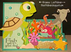 Under the sea step card - bjl