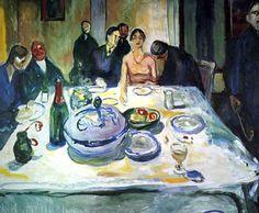 Edward Munch, the Wedding of a Bohemian