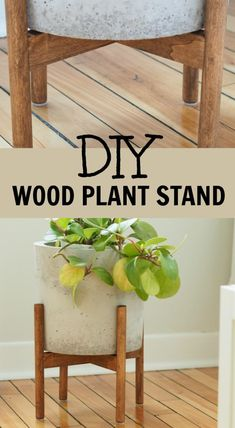 make a wood plant standHow to make a wood plant stand Plant Stand + Matte White Ceramic Planter Included - Modern Plant Pot and Wood Stand DIY Plant Stand, mid-century plant stand, West Elm inspired plant stand Mid-Century Plant Stand - DIY