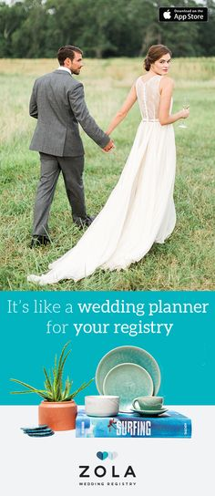 Your love is one-of-a-kind, your registry should be, too. Personalize your registry with photos, collections, and notes to guests, then load it up with everything you could possibly want. Add items from Zola or any other store, even honeymoon funds.