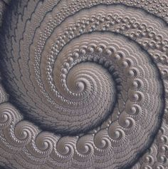 This is definitely not quilting : this is the build of the Grey fractal spiral made with Mandelbulb software. Patchwork Quilting, Quilt Stitching, Longarm Quilting, Free Motion Quilting, Hand Quilting, Modern Quilting, Spiral Quilting, Quilting Stencils, Art Fractal