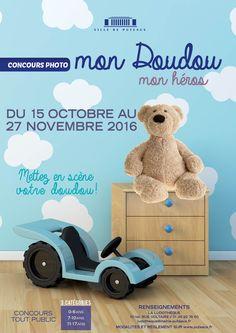 Concours Mon Doudou Mon héros du 15 octobre au 27 novembre 2016