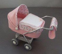 dollhouse size carriage - Jemima Puddleduck