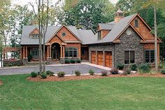 <3 Plan 453-22 http://www.houseplans.com/plan/4304-square-feet-4-bedrooms-4-5-bathroom-cottage-house-plans-3-garage-34837