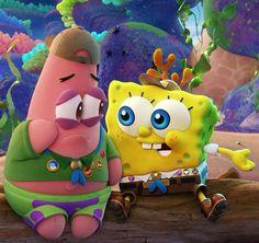 spongebob and patrick cute scene!