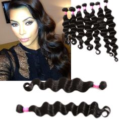 Brazilian ombre hair extensions 2 tone real human hair weave 1b stylish 6a 100gpc natural black deep wave malaysian human hair wefts extension wigiss pmusecretfo Images