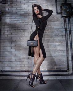 A modelo Isabeli Fontana publicou uma imagem de uma campanha de moda