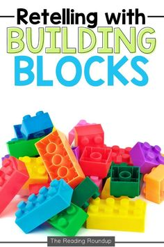 Are you looking for new retelling activities to use with your elementary students? Luckily, I have the perfect activity for you that will improve students' retelling ability! This engaging and effective retelling strategy will benefit even your most reluctant readers. When students practice retelling with lego building blocks, they will be eager to independently implement the strategy! Be sure to download the FREE resource to set up this retelling center in your classroom! Summarizing Activities, Retelling Activities, Free Activities, Teaching Reading, Kindergarten Reading, Teaching Tips, Reluctant Readers, Struggling Readers, Story Elements Activities