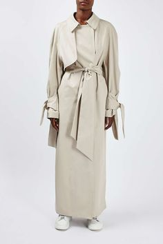 Tie Sleeve Trench by Boutique - Jackets & Coats - Clothing - Topshop Europe