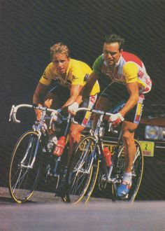 Greg LeMond & Bernard Hinault