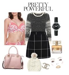 """""""Untitled #60"""" by foxtheimer on Polyvore featuring Elomi, Movado, WearAll and Givenchy"""