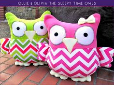 Sleepy+Time+Stuffed+Owls