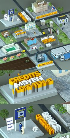 Real Graphic Adventure by Alexandre Efimov, via Behance