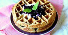 Cooking with Šůša : Ovesné vafle s borůvkami Kitchenaid, Granola, Food And Drink, Cooking, Breakfast, Recipes, Fitness, Blog, Kitchen