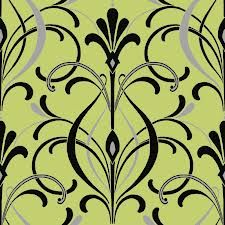 Some green art deco wallpaper thingy...