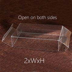 Cheap Jewelry Packaging & Display, Buy Directly from China Suppliers:50pcs 2xWxH 4/6/7/8 Plastic Box Storage PVC Box Clear Transparent Boxes For Gift Boxes Wedding/Food/Jewelry Package Display DIY Enjoy ✓Free Shipping Worldwide! ✓Limited Time Sale ✓Easy Return.
