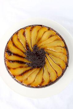 Gingerbread Pear Cake:
