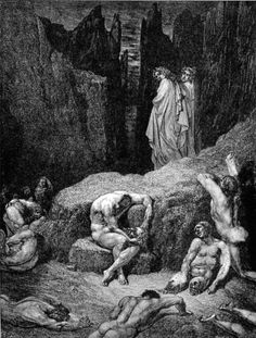 women in dante s inferno Dante's 'inferno', an epic poem written by dante alighieri in 1300, chronicles the journey of dante as he is guided through the nine circles of.