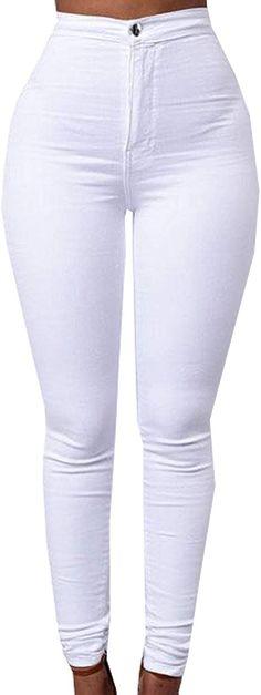 Damen Skinny Hose Leggings Treggings Freizeit Sports Leggins Jeans Lang Hosen J