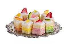 1:12 scale // little fruit  sponge cakes  dollhouse miniature food door amanspeak, $16.99