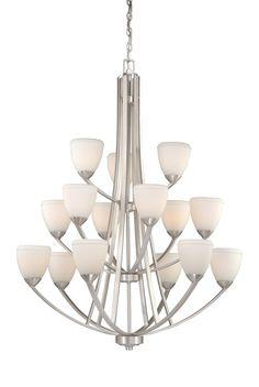 Badar 15-Light Shaded Chandelier