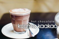 kuuma kaakao - hot chocolate in Finnish