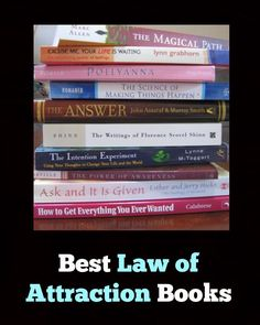 Best Law of Attraction Books  http://goodvibeblog.com/top-7-manifesting-books/ http://www.loapower.net/our-story/