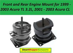 8USAUTO 1 PCS Front Right Motor Mount FIT 1999-2003 Acura TL 3.2L