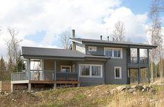 Финский дом Honkatalot - Дом из клееного бруса - Nature 167