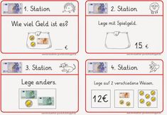 60 best Geld images on Pinterest | Money, Kids learning and Coins