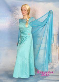 """Strój Elsy z filmu """"Kraina Lodu"""" wykorzystywany podczas animacji dla dzieci:)  ///Elsa's outfit from the film """"Frozen"""" used during the animation for children :)  ///Thanks https://www.facebook.com/PracowniaKami"""