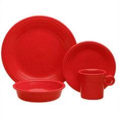 Scarlet Fiestaware. Luv this color!!!