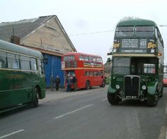 The 423 Double decker bus (pic taken in Swanley, Kent) from my childhood in the 1960's