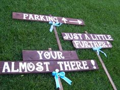 awesome backyard wedding signs best photos