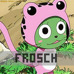 frosch fairy tail gif - Google Search Fairy Tail Cat, Fairy Tail Love, Fairy Tail Ships, Fairy Tail Anime, Nalu, Fairytail, Exceed Fairy Tail, Fairy Tail Characters, Anime Nerd