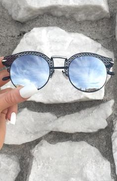7cff760769 Candy Sunnies - Rose Gold Eye Glasses